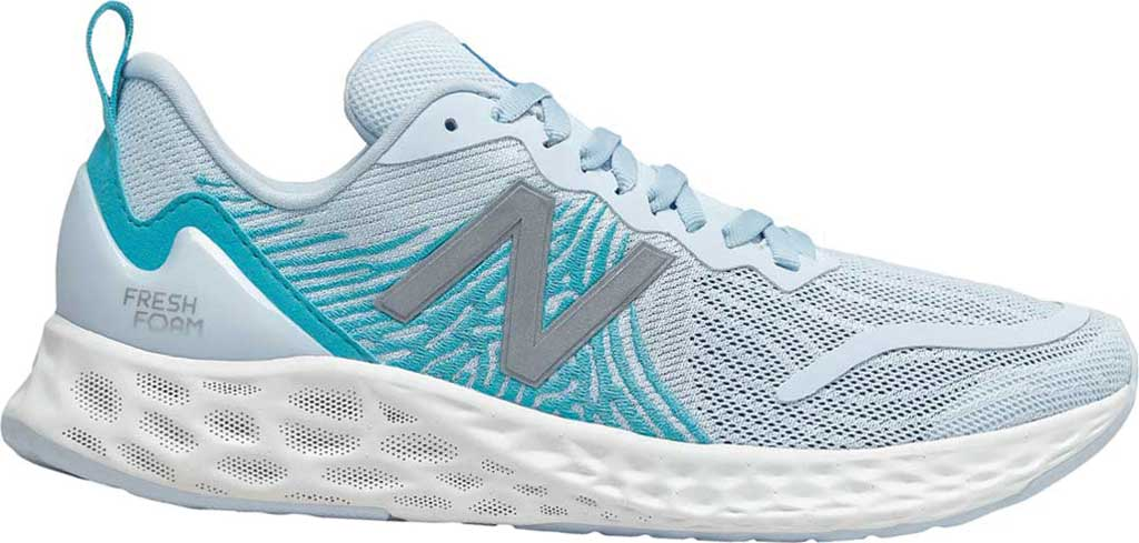 Women's New Balance Fresh Foam Tempo v1 Running Shoe, UV Glo/Virtual Sky, large, image 1