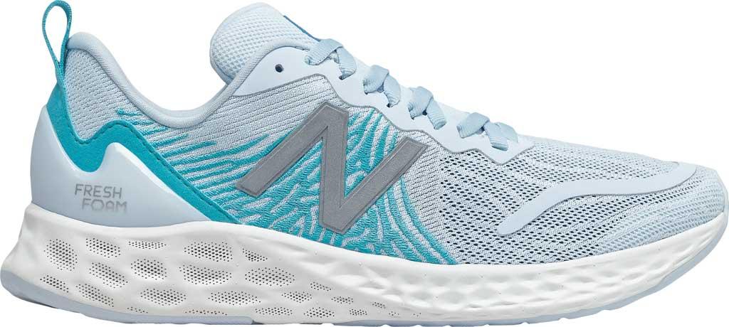 Women's New Balance Fresh Foam Tempo v1 Running Shoe, UV Glo/Virtual Sky, large, image 2