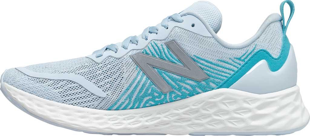 Women's New Balance Fresh Foam Tempo v1 Running Shoe, UV Glo/Virtual Sky, large, image 3