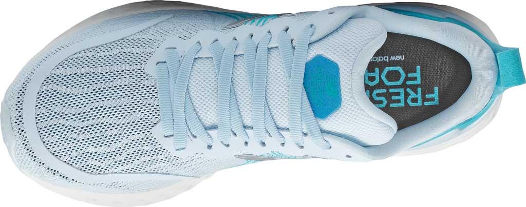 Women's New Balance Fresh Foam Tempo v1 Running Shoe, UV Glo/Virtual Sky, large, image 4