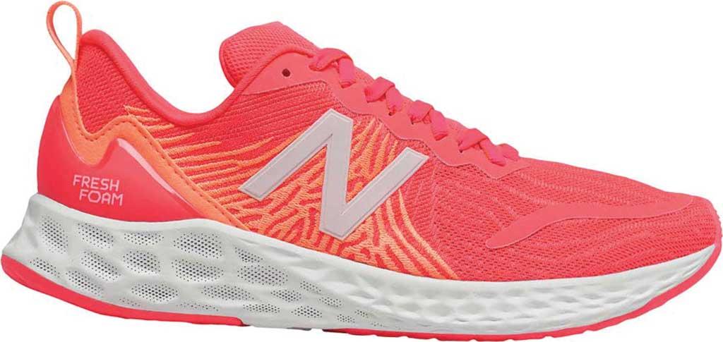 Women's New Balance Fresh Foam Tempo v1 Running Shoe, Vivid Coral/Citrus Punch, large, image 1