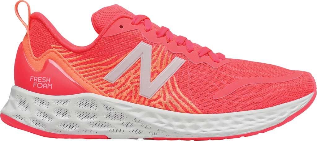 Women's New Balance Fresh Foam Tempo v1 Running Shoe, Vivid Coral/Citrus Punch, large, image 2