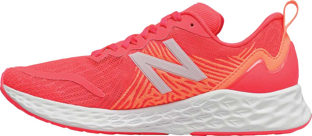 Women's New Balance Fresh Foam Tempo v1 Running Shoe, Vivid Coral/Citrus Punch, large, image 3