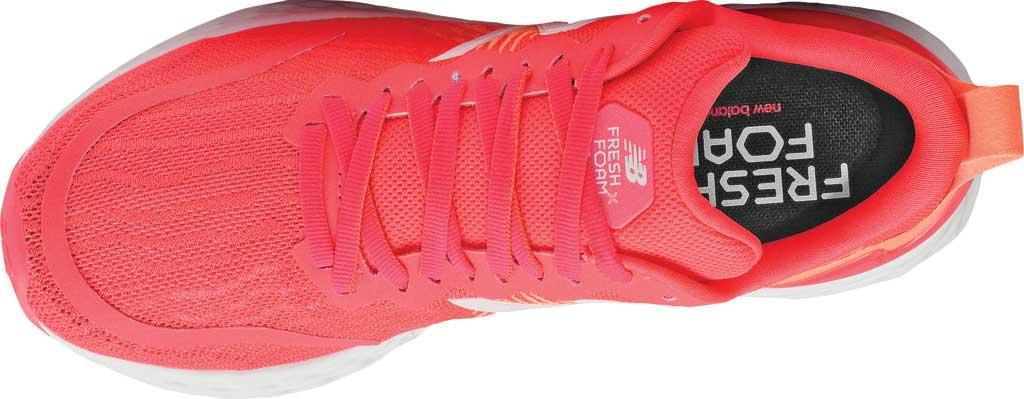 Women's New Balance Fresh Foam Tempo v1 Running Shoe, Vivid Coral/Citrus Punch, large, image 4