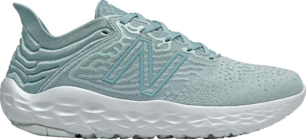 Women's New Balance Fresh Foam Beacon v3 Running Shoe, Storm Blue/Glacier, large, image 1