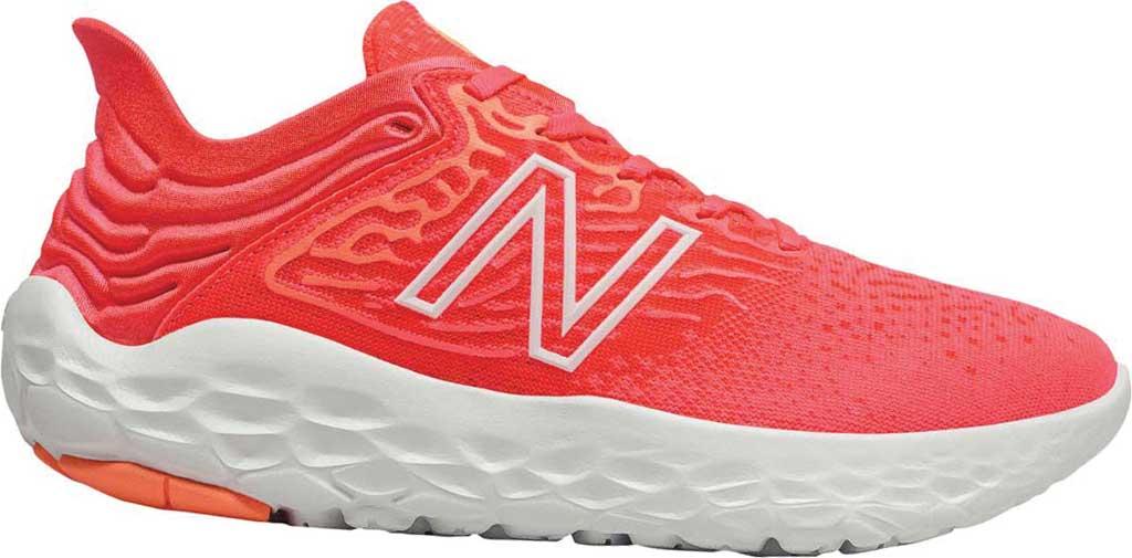 Women's New Balance Fresh Foam Beacon v3 Running Shoe, Star Glo/Bleached Lime Glo, large, image 1