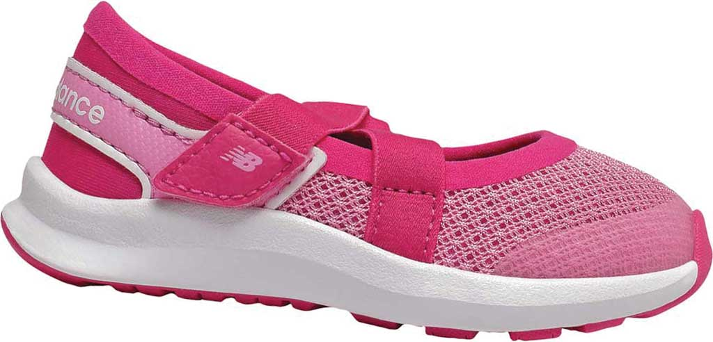 Infant Girls' New Balance Nergize Sport Mary Jane, Candy Pink/Exhuberant Pink, large, image 1