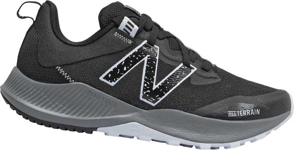 Women's New Balance DynaSoft Nitrelv4 Trail Running Sneaker, Black/Moon Dust, large, image 1