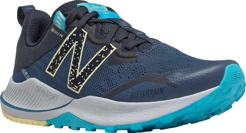 Women's New Balance DynaSoft Nitrelv4 Trail Running Sneaker, Rogue Wave/Black/Lemon Haze/Virtual Sky, large, image 1