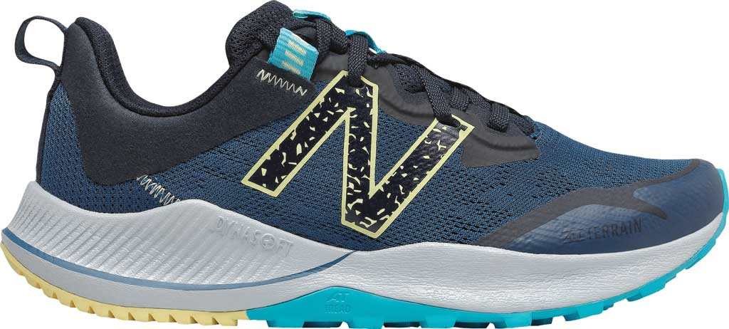 Women's New Balance DynaSoft Nitrelv4 Trail Running Sneaker, Rogue Wave/Black/Lemon Haze/Virtual Sky, large, image 2