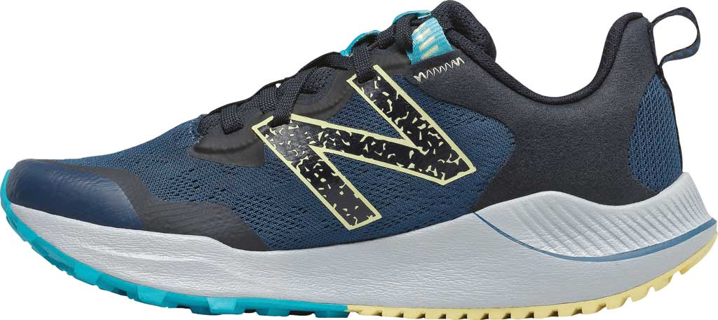 Women's New Balance DynaSoft Nitrelv4 Trail Running Sneaker, Rogue Wave/Black/Lemon Haze/Virtual Sky, large, image 3