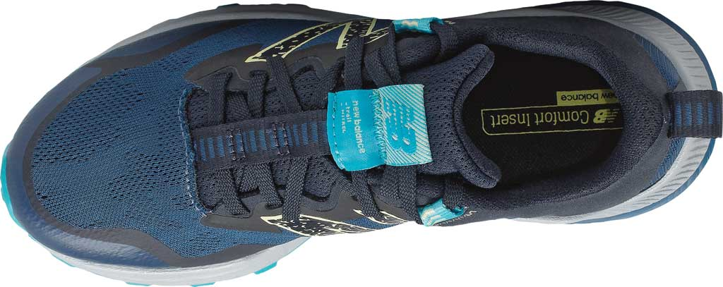 Women's New Balance DynaSoft Nitrelv4 Trail Running Sneaker, Rogue Wave/Black/Lemon Haze/Virtual Sky, large, image 4