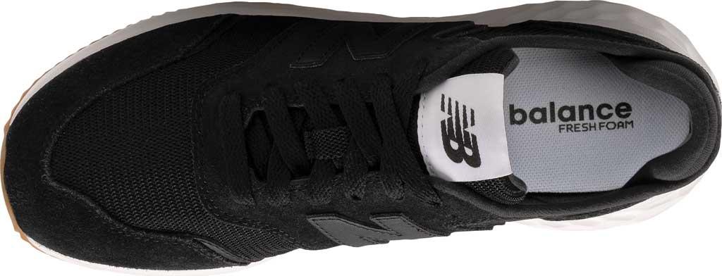 Women's New Balance X70v1 Fresh Foam Sneaker, Black/Black/Munsell White, large, image 4
