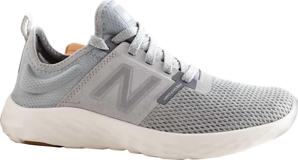 Women's New Balance Fresh Foam Sport v2 Running Shoe, Light Aluminum/Steel, large, image 1
