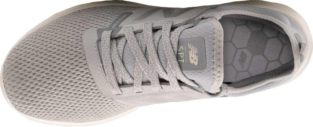 Women's New Balance Fresh Foam Sport v2 Running Shoe, Light Aluminum/Steel, large, image 4