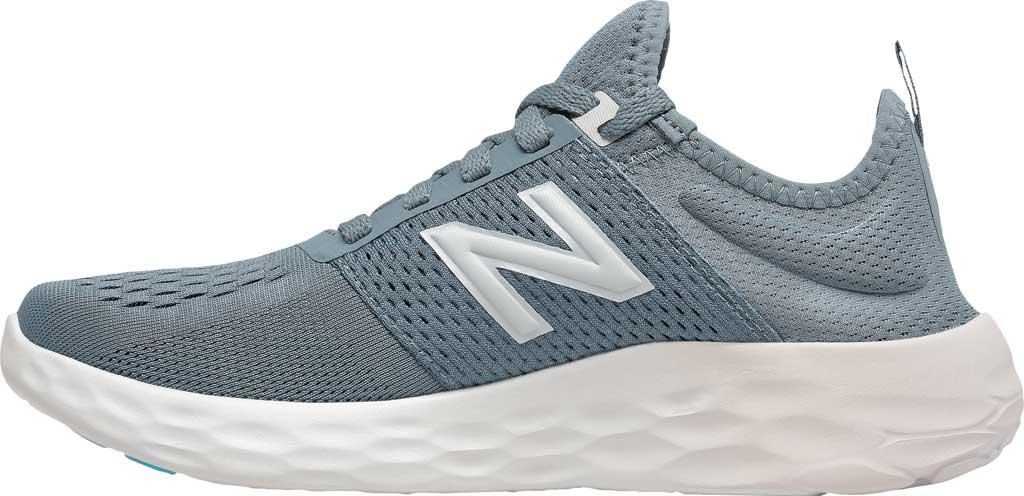Women's New Balance Fresh Foam Sport v2 Running Shoe, Ocean Grey/Logwood/Silver, large, image 3