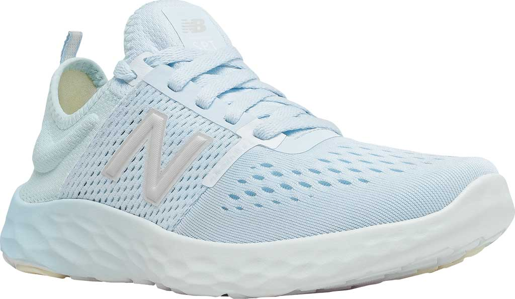 Women's New Balance Fresh Foam Sport v2 Running Shoe, UV Glo/Star Glo/Silver, large, image 1