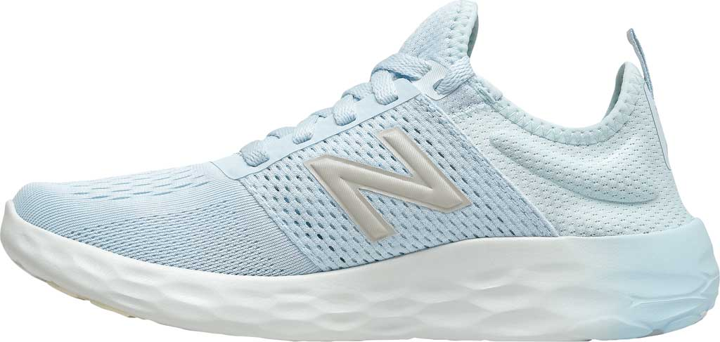 Women's New Balance Fresh Foam Sport v2 Running Shoe, UV Glo/Star Glo/Silver, large, image 3