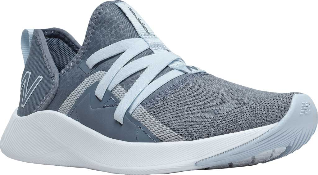 Women's New Balance Beaya Slip On Sneaker, Ocean Grey/UV Glo/Solar Glo, large, image 1