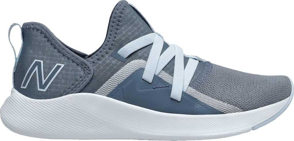 Women's New Balance Beaya Slip On Sneaker, Ocean Grey/UV Glo/Solar Glo, large, image 2
