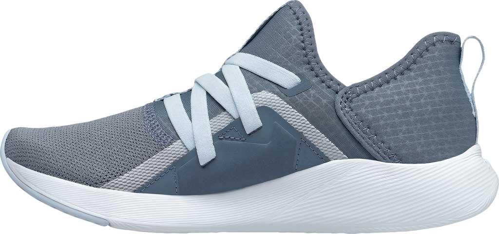 Women's New Balance Beaya Slip On Sneaker, Ocean Grey/UV Glo/Solar Glo, large, image 3