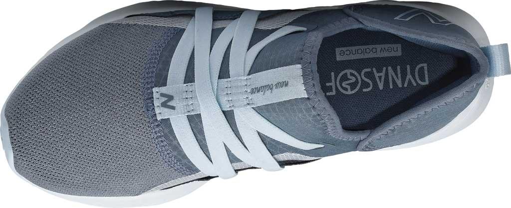 Women's New Balance Beaya Slip On Sneaker, Ocean Grey/UV Glo/Solar Glo, large, image 4