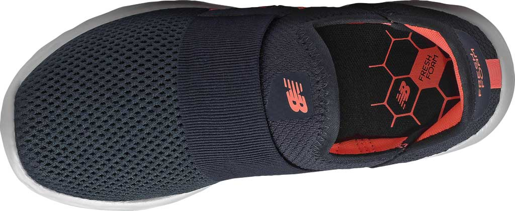 Women's New Balance Fresh Foam SPT Slip On Sneaker, Outer Space/Paradise Pink/Arctic Fox, large, image 4