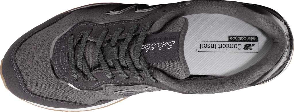 Women's New Balance Sola Sleek Sneaker, Chalkboard/Black Metallic, large, image 4