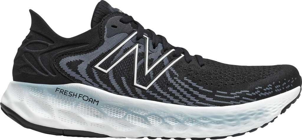 Men's New Balance Fresh Foam 1080v11 Running Sneaker, Black/Thunder, large, image 1