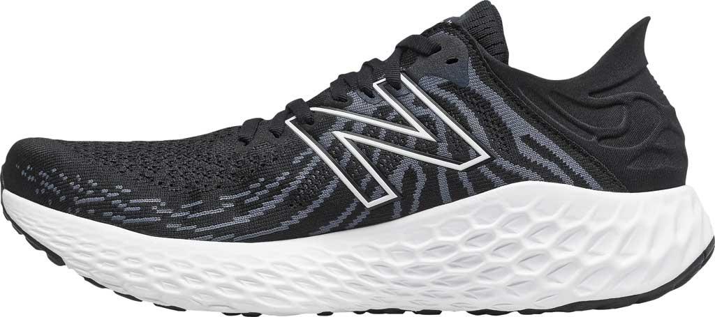 Men's New Balance Fresh Foam 1080v11 Running Sneaker, Black/Thunder, large, image 2
