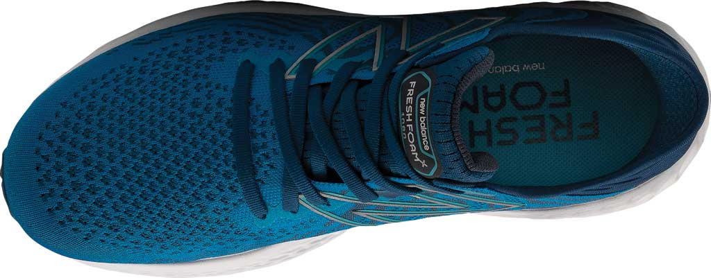 Men's New Balance Fresh Foam 1080v11 Running Sneaker, Wave/Light Rogue Wave, large, image 3