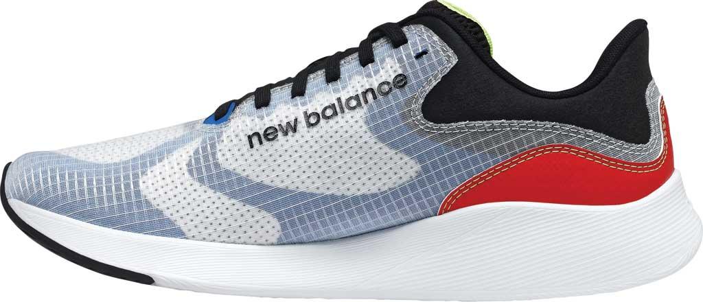 Men's New Balance BREAZA Fresh Foam Running Sneaker, Grey/Black/Yellow, large, image 3