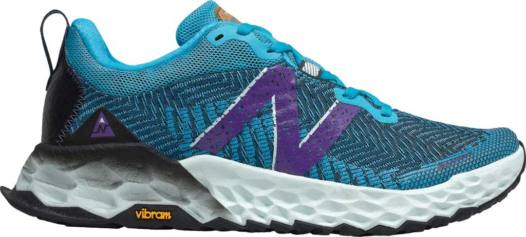 Women's New Balance Fresh Foam Hierro v6 Running Sneaker, Virtual Sky/Sour Grape, large, image 1