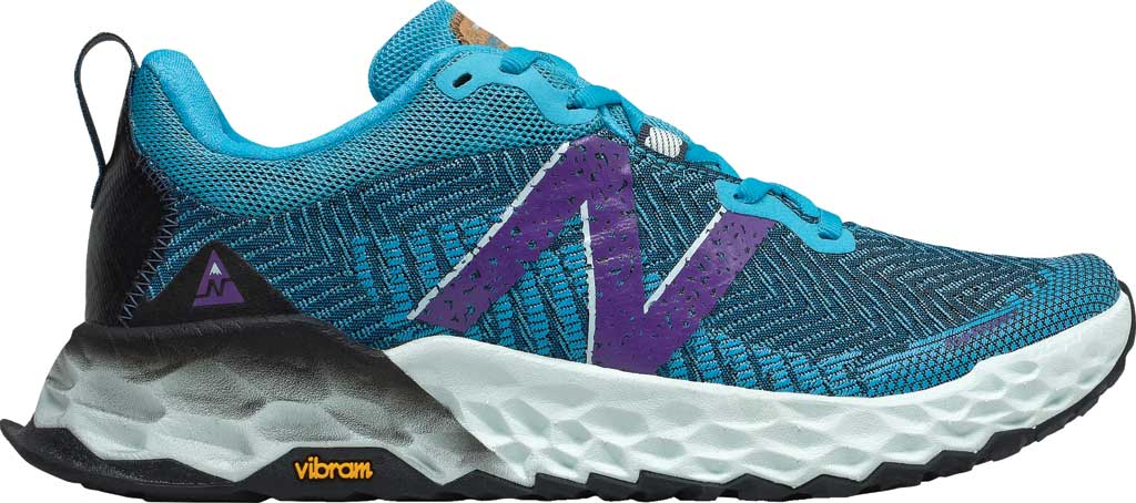 Women's New Balance Fresh Foam Hierro v6 Running Sneaker, Virtual Sky/Sour Grape, large, image 2
