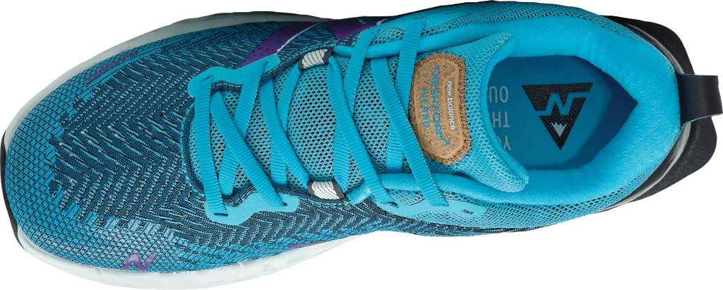 Women's New Balance Fresh Foam Hierro v6 Running Sneaker, Virtual Sky/Sour Grape, large, image 4