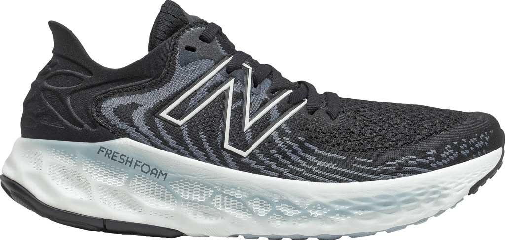 Women's New Balance Fresh Foam 1080v11 Running Sneaker, Black/Thunder, large, image 1