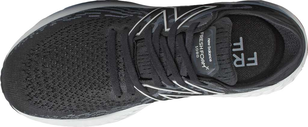 Women's New Balance Fresh Foam 1080v11 Running Sneaker, Black/Thunder, large, image 3