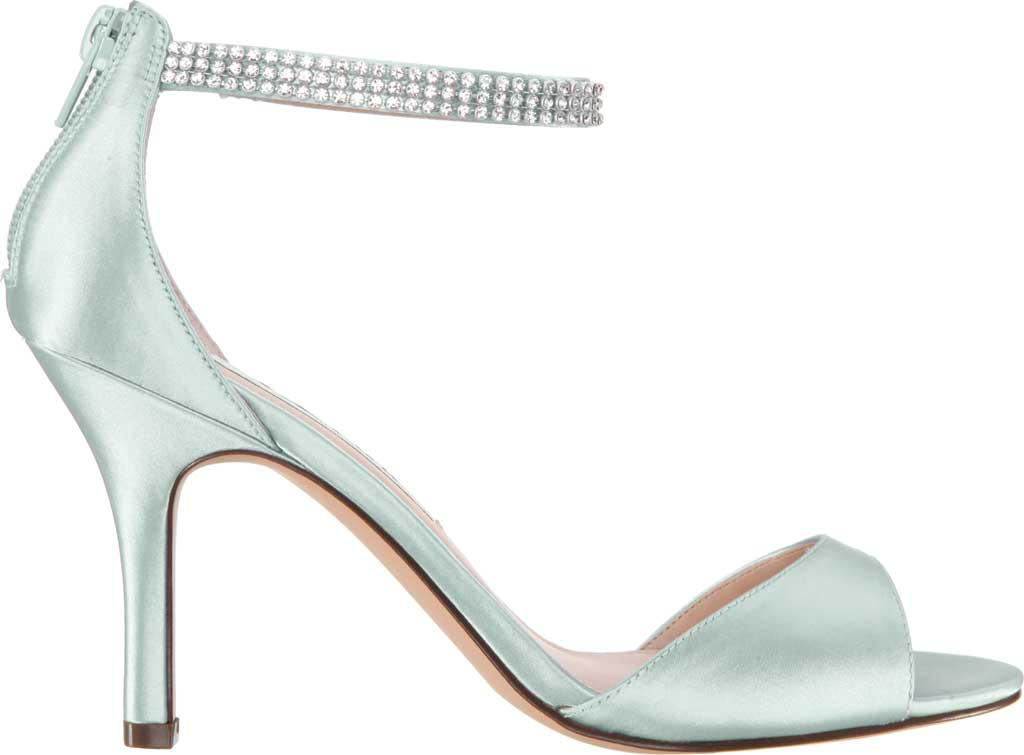 Women's Nina Volanda Ankle Strap Sandal, Brook Green Satin, large, image 2
