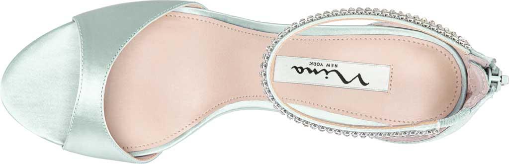 Women's Nina Volanda Ankle Strap Sandal, Brook Green Satin, large, image 4