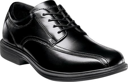 Men's Nunn Bush Bartole Street, Black Smooth Leather, large, image 1