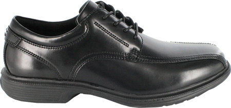 Men's Nunn Bush Bartole Street, Black Smooth Leather, large, image 2