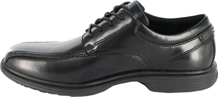 Men's Nunn Bush Bartole Street, Black Smooth Leather, large, image 3