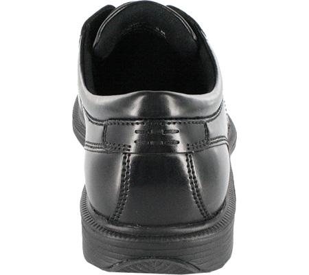 Men's Nunn Bush Bartole Street, Black Smooth Leather, large, image 5