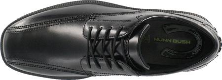 Men's Nunn Bush Bartole Street, Black Smooth Leather, large, image 6
