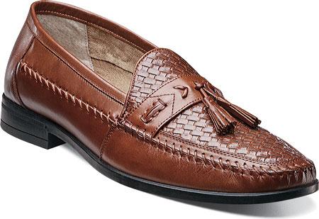Men's Nunn Bush Strafford Woven Moc Tassel Loafer, , large, image 1