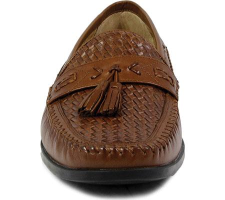 Men's Nunn Bush Strafford Woven Moc Tassel Loafer, , large, image 4