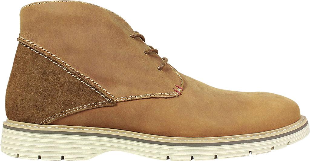 Men's Nunn Bush Littleton Plain Toe Chukka Boot, Tan Leather, large, image 2