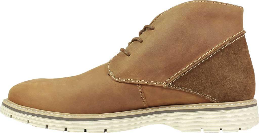 Men's Nunn Bush Littleton Plain Toe Chukka Boot, Tan Leather, large, image 3