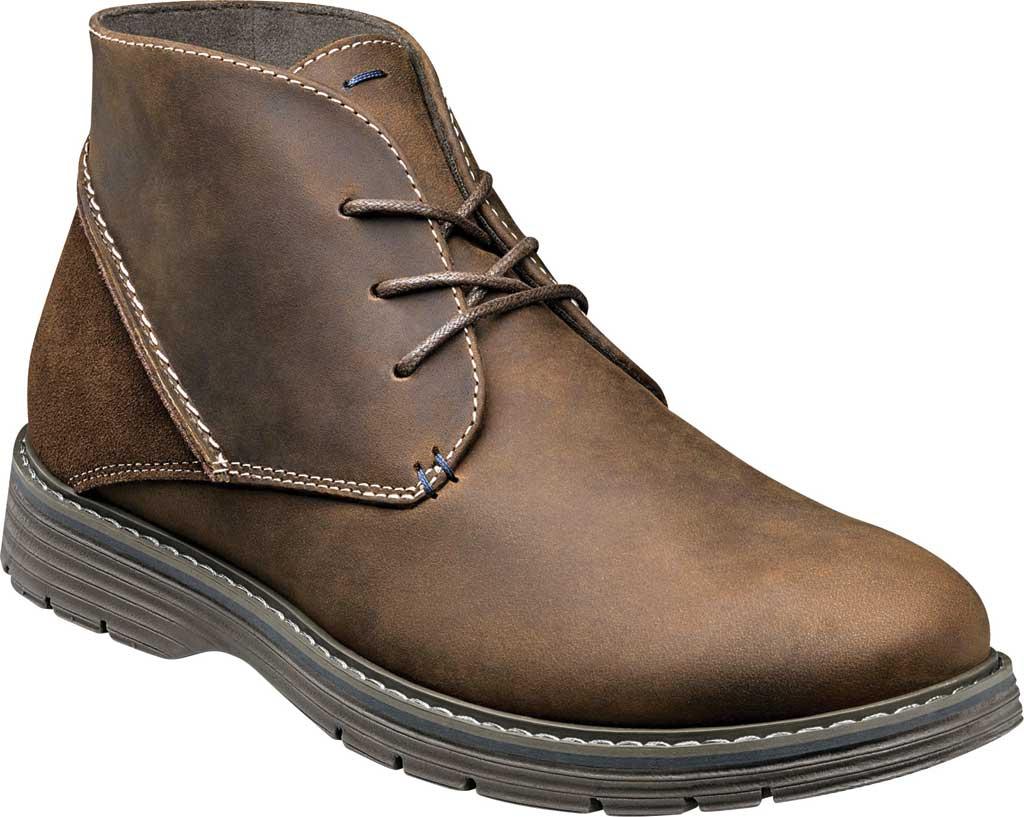 Men's Nunn Bush Littleton Plain Toe Chukka Boot, , large, image 1