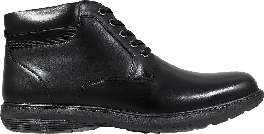 Men's Nunn Bush Memphis St. Moc Toe Waterproof Boot, Black Smooth Leather, large, image 2